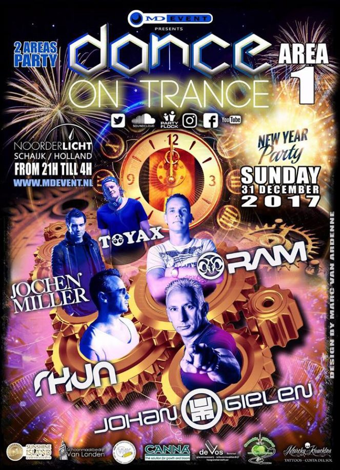 MD Event Presents New Years PARTY DANCE ON TRANCE 2016/17