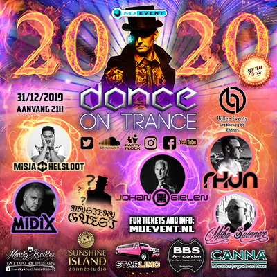 MD Event presents new years party DANCE ON TRANCE 2019/20